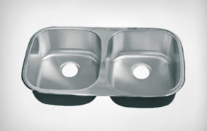 Fuentera double bowl sink