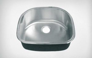 Fuentera single bowl sink